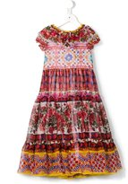 Dolce & Gabbana Mambo print dress - kids - Silk/Viscose - 6 yrs