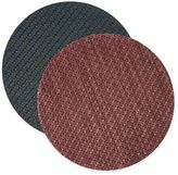 Keeco Woven Vinyl Sequence Round Placemat