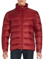 Saks Fifth Avenue Quilted Zipper Jacket
