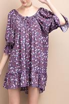 Easel Lilac Poet Tunic