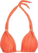 Vix Peach Bia triangle bikini top