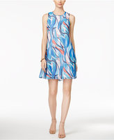 Nine West Painted Trapeze Dress