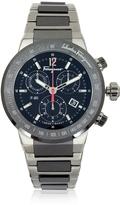 Salvatore Ferragamo F-80 Titanium and Black Ceramic Men's Watch