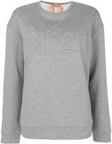 No.21 logo jumper - women - Cotton - 36