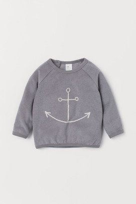 H&M Terry Top - Gray