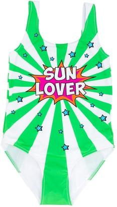 Mc2 Saint Barth Kids Sun Lover swimsuit