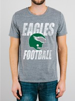 Junk Food Clothing Nfl Philadelphia Eagles Tee-steel-l
