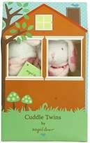 Angel Dear Cuddle Twin Set, Flower Print Bunny by