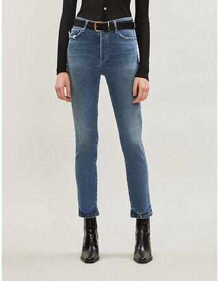 Citizens of Humanity Olivia slim relaxed-fit high-rise jeans