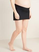 Old Navy Maternity High-Waisted Swim Skirt