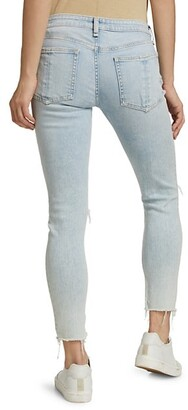 Rag & Bone Cate Mid-Rise Ankle Crop Skinny Jeans