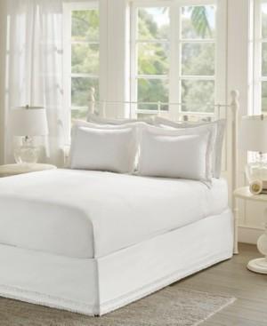 JLA Home Madison Park Essentials Ruffled King Bedskirt and Shams Set Bedding
