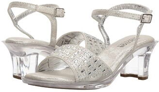 Kenneth Cole Reaction Cind-r-ella Jewel (Little Kid/Big Kid) (Silver) Girl's Shoes