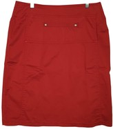 Krizia Red Cotton Skirt for Women
