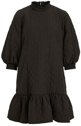 Object Black Patty Quilt Dress - 34 | black - Black/Black