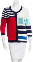 Kate Spade Striped Colorblock Cardigan