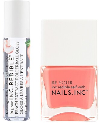 Nails Inc NAILS.INC Peachy and Perky Duo