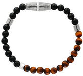 Effy Tigers Eye, Onyx & Sterling Silver Bracelet