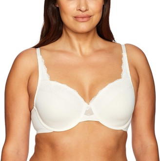 Olga womens Cloud 9 Underwire Contour With Lace Bra