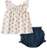 Kate Spade Girls' Orangerie Top & Bloomers Set - Baby