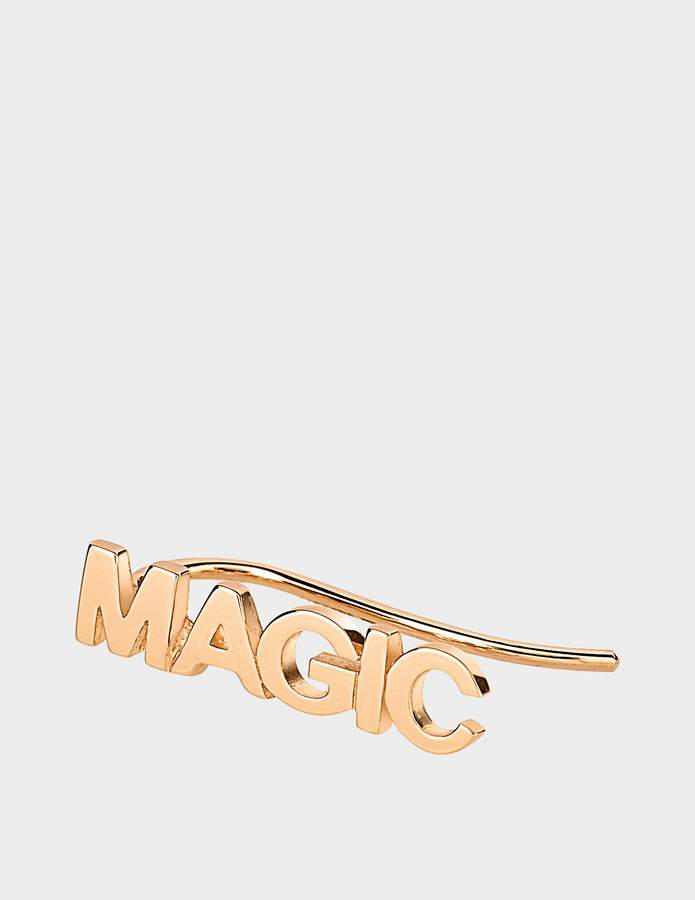 ginette_ny Solo Fairy Magic Earring in 18K Rose Gold