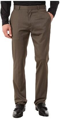 Perry Ellis Portfolio Slim Fit Pants (Rain Drum) Men's Dress Pants