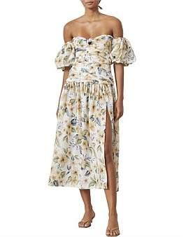 Bec & Bridge Bec + Bridge Fleurette Off Shoulder Dress