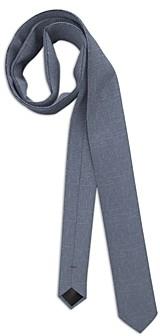 HUGO BOSS Silk Broken Crosshatch Skinny Tie