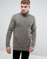 Jack and Jones Turtleneck Knit Sweater
