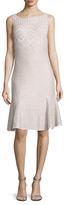 St. John Adara Godet Flared Dress