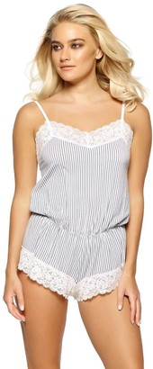 Jezebel Women's Amil Modal and Lace Romper