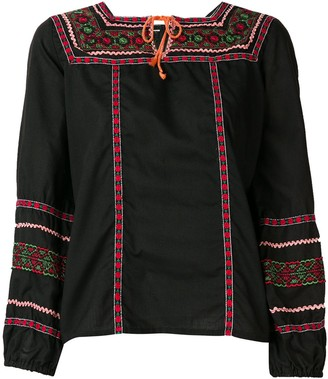 A.N.G.E.L.O. Vintage Cult 1970's embroidered blouse