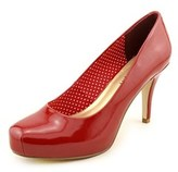 Madden-Girl Getta Women Round Toe Synthetic Red Heels.