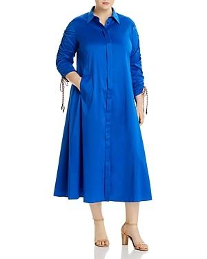 Marina Rinaldi Plus Dondolo Midi Shirt Dress