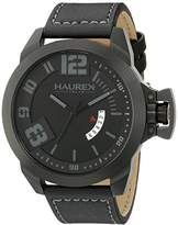 Haurex Italy Men's 6N509UJN Storm Analog Display Quartz Black Watch