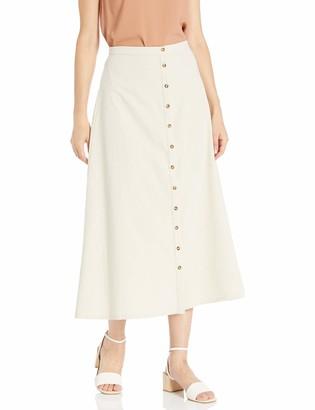 Rachel Pally Women's Winter Linen Canvas Ainsley Skirt