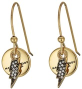 Marc Jacobs MJ Coin Lightning Earrings