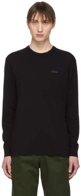 HUGO Black Patch Sweater