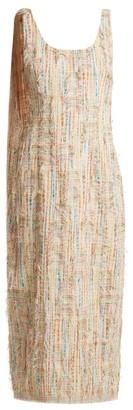 Carl Kapp - Right Wing Cotton-blend Dress - Womens - Pink Multi