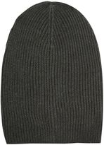 Topshop Ribbed Slouch Beanie