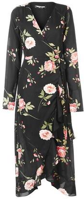 Fashion Union Fashion Tino Wrap Midi Dress