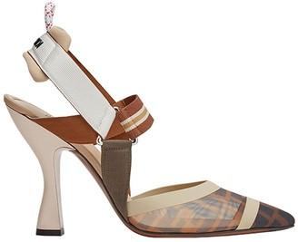 Fendi Colibri FF motif slingback pumps