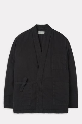 Universal Works Insulated Kyoto Work Jacket In Black - L