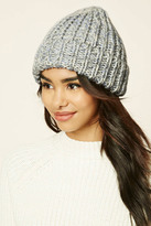 Forever 21 Marled Knit Fold-Over Beanie