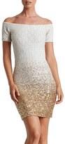 Dress the Population Women's Larissa Sequin Minidress