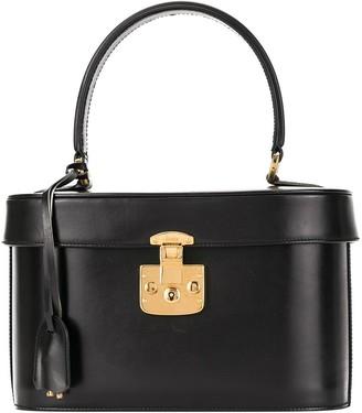 Gucci Pre Owned Lady Lock cosmetic vanity bag