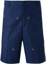 Kenzo embroidered bermuda shorts - men - Cotton - 50