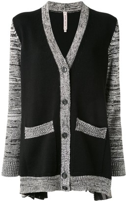 Antonio Marras Contrast-Trimmed Cardigan