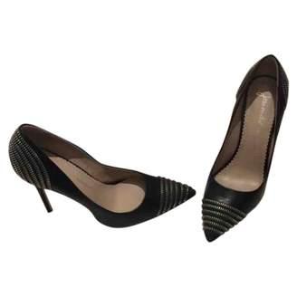 Jean-Michel Cazabat Jean Michel Cazabat \N Black Leather Heels