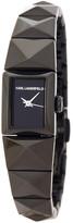 Karl Lagerfeld Women&s Petite Perspektive Bracelet Watch